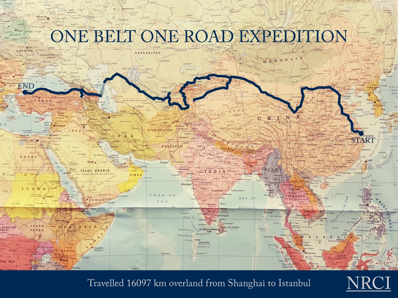 Arne Elias Corneliussen on fact-finding expedition from Shanghai to Istanbul